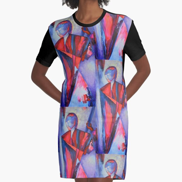 Army of Me Graphic T-Shirt Dress