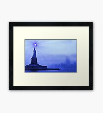 Rays of Liberty Framed Print