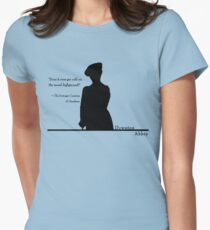 Moral Highground Women's Fitted T-Shirt