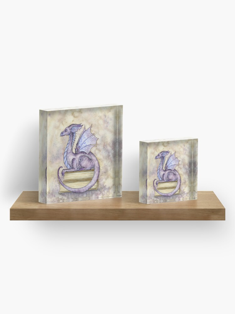 Alternate view of Story Time Acrylic Block