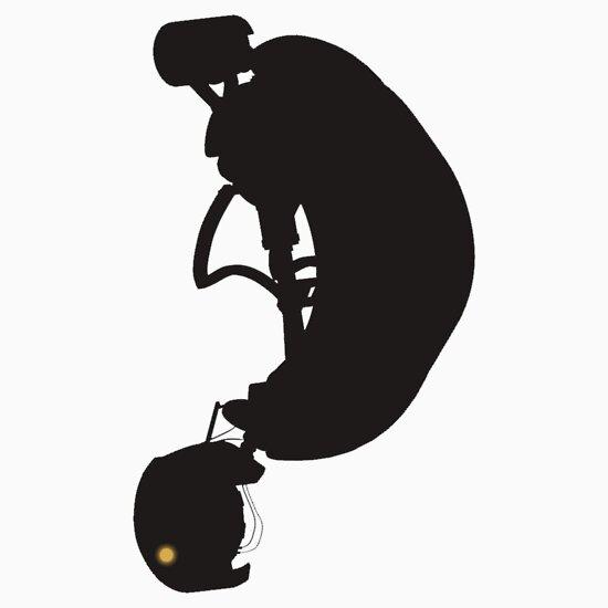 TShirtGifter presents: GLaDOS Silhouette