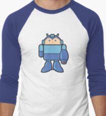 MEGADROID Men's Baseball ¾ T-Shirt