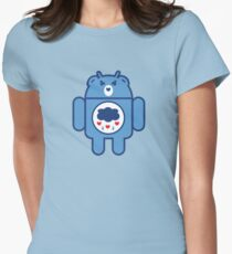 GRUMPYDROID Women's Fitted T-Shirt