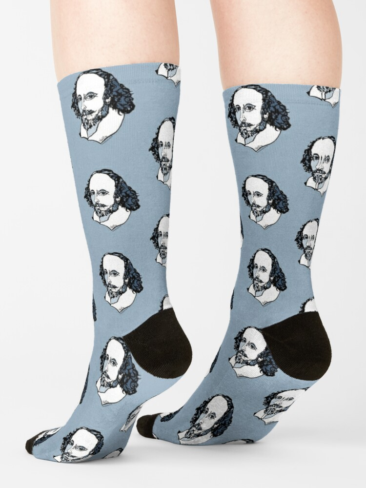 Alternate view of William Shakespeare : The Bard Socks