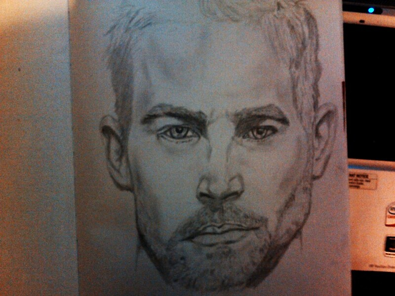 """PAUL WALKER FROM FAST AND FURIUOS"" By SHOW-TIME"