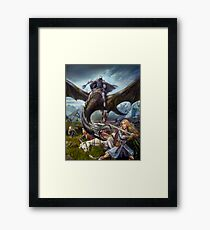 Eowyn and the Nazgul Framed Print