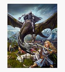 Eowyn and the Nazgul Photographic Print