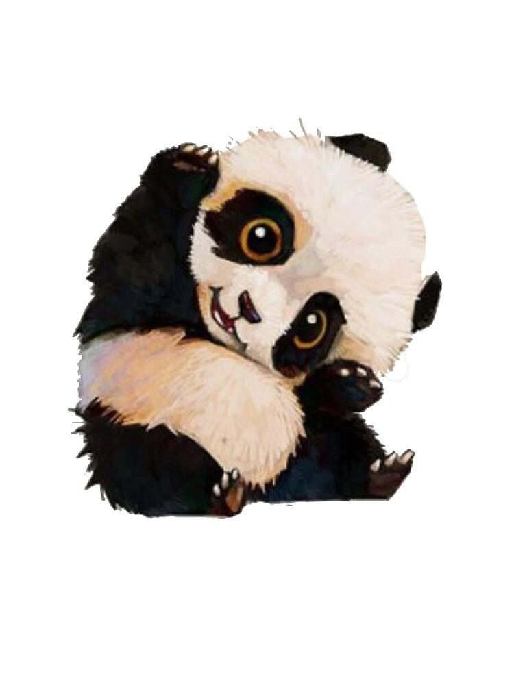 Cute panda by MallsD