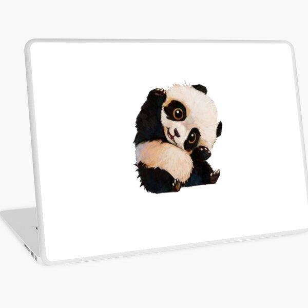 Cute panda Laptop Skin