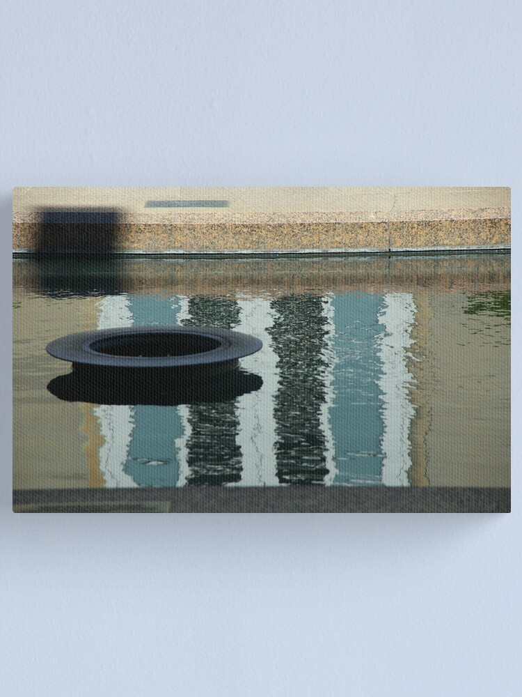 Alternate view of Even The Eternal Flame Plays Hide-And-Seek Canvas Print