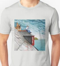 Tea Break. Gardenstown. Unisex T-Shirt