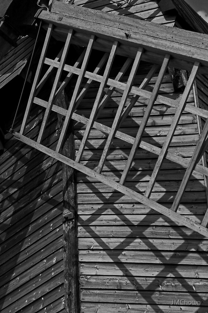 Pitstone Windmill Close Up by JMChown