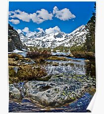 Little Lakes Valley Poster
