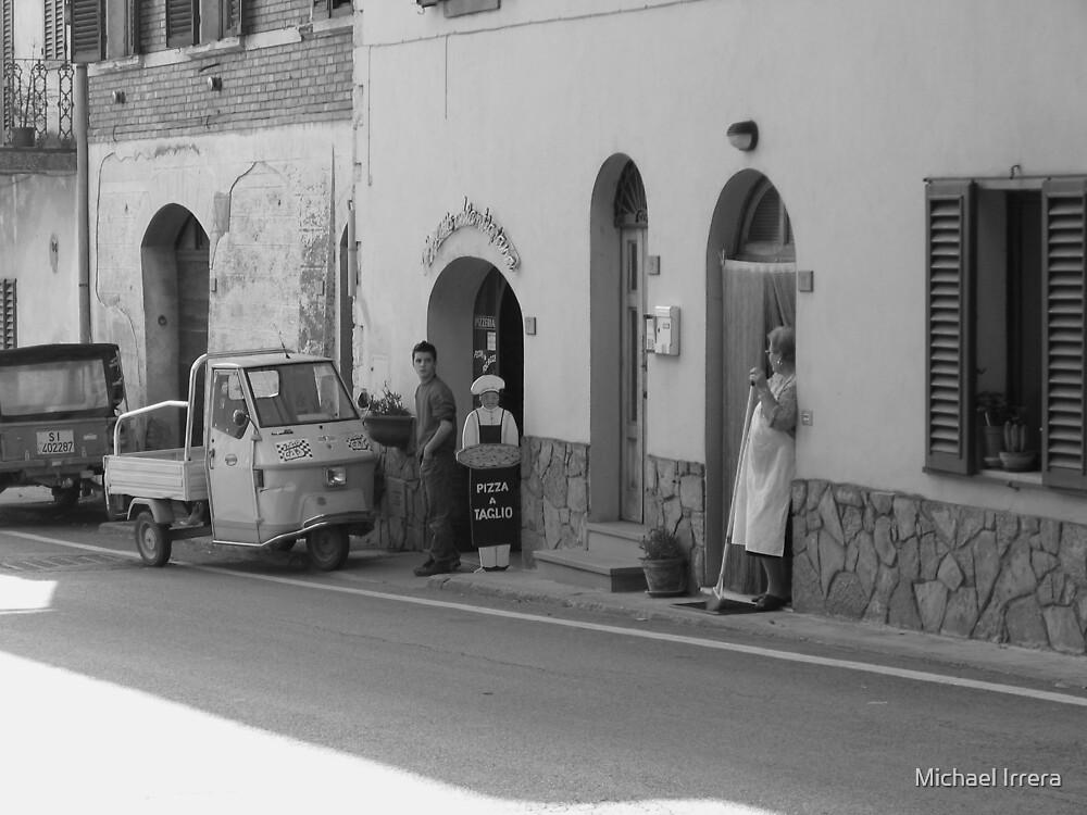 Pizza a Taglio, Chianti, Italy by Michael Irrera