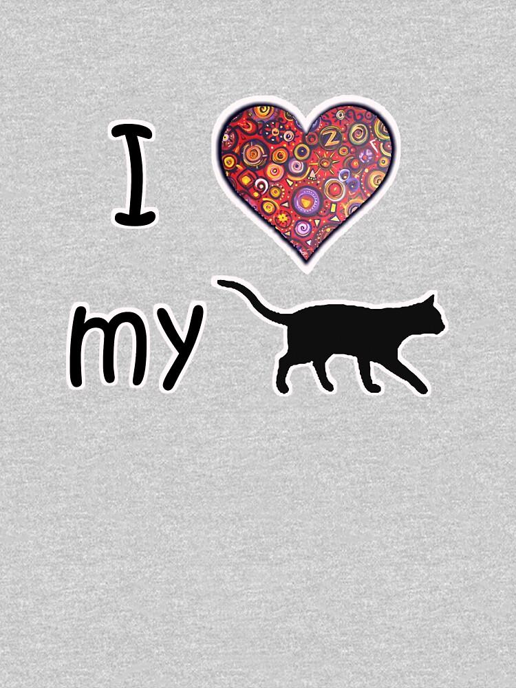 I heart my cat  by gretzky