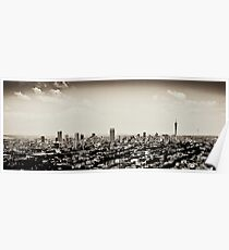 Johannesburg East with CBD in Background Poster