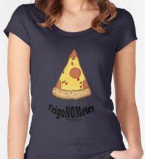 TrigaNOMetry Nerd-Humor T-Shirt Women's Fitted Scoop T-Shirt