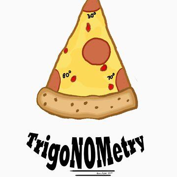 TrigaNOMetry Nerd-Humor T-Shirt by dtfgator