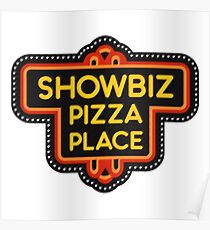 Showbiz Pizza Posters Redbubble