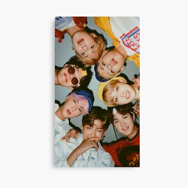 BTS Poster Canvas Print
