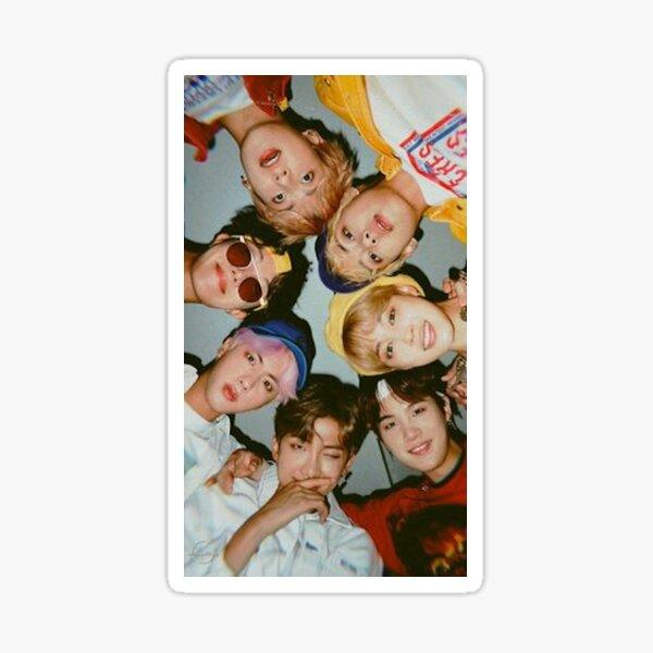 BTS Poster Sticker