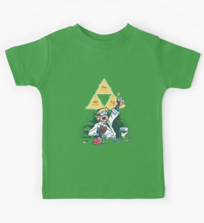 Hyrulean Science Kids Clothes