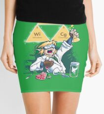 Hyrulean Science Mini Skirt