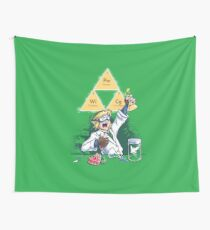 Hyrulean Science Wall Tapestry