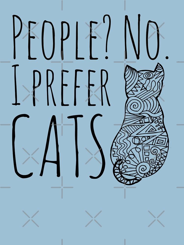 people? no. I prefer CATS #2   Women's T-Shirt