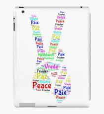 Peace Across the World iPad Case/Skin