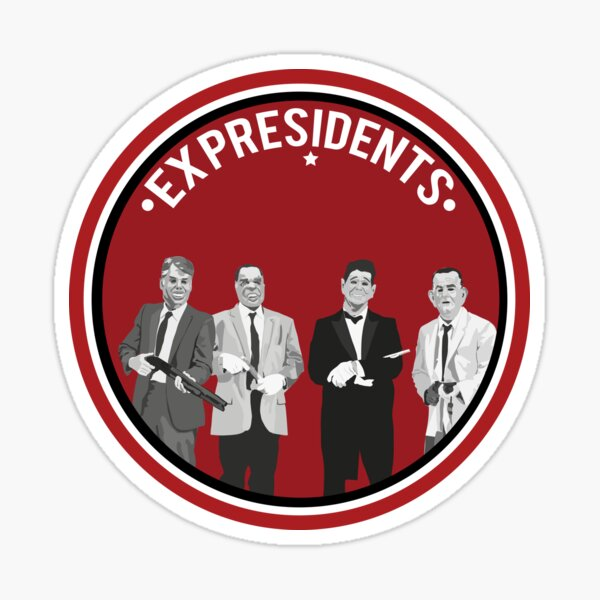 ex presidents  Sticker