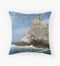 The Rock Throw Pillow
