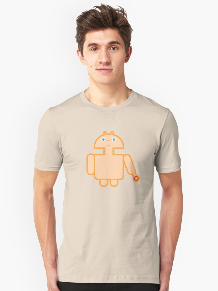 DROID PHONE HOME Unisex T-Shirt Front