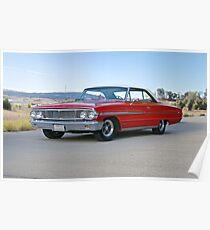 1964 Ford Galaxie 500XL Poster