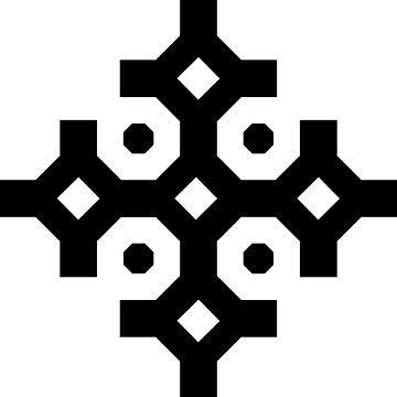 Black Snowflake by thomasb139