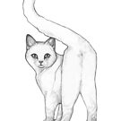 White Cat by MadliArt