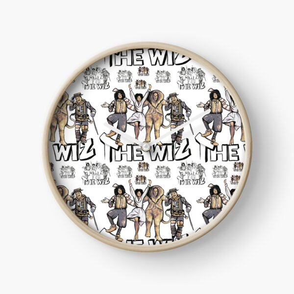 The Wiz Y'all  Clock
