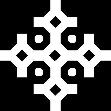 White Snowflake by thomasb139