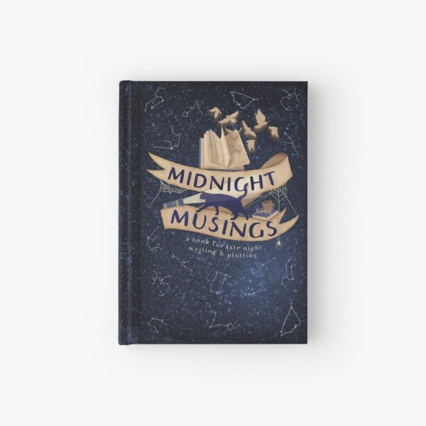 Midnight Musings Hardcover Journal