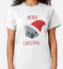 Merry Christmas Koala Emoji Classic T-Shirt