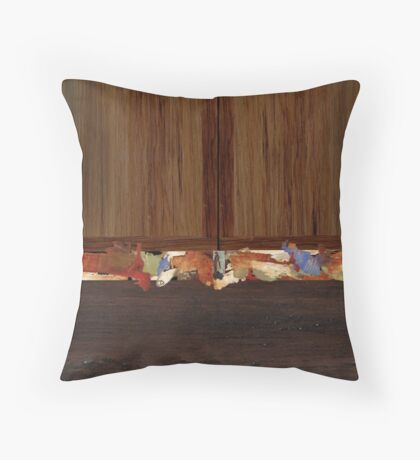 """""""Socks and Knickers"""" Throw Pillow"""
