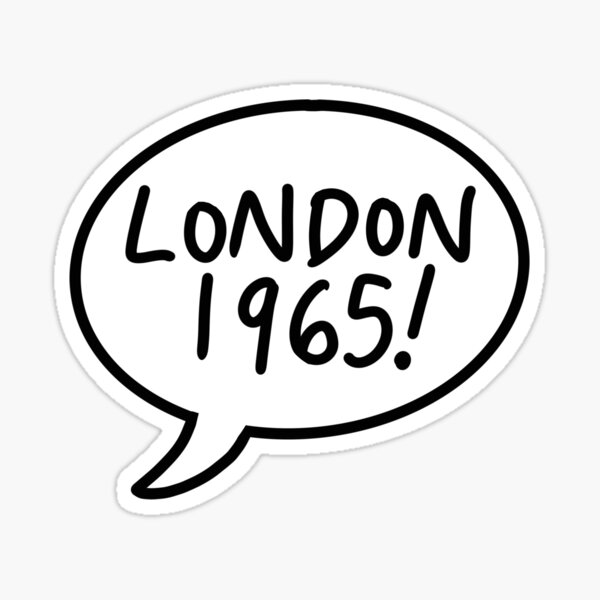 LONDON 1965 Sticker