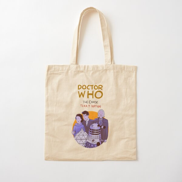 DW: THE CHASE Cotton Tote Bag