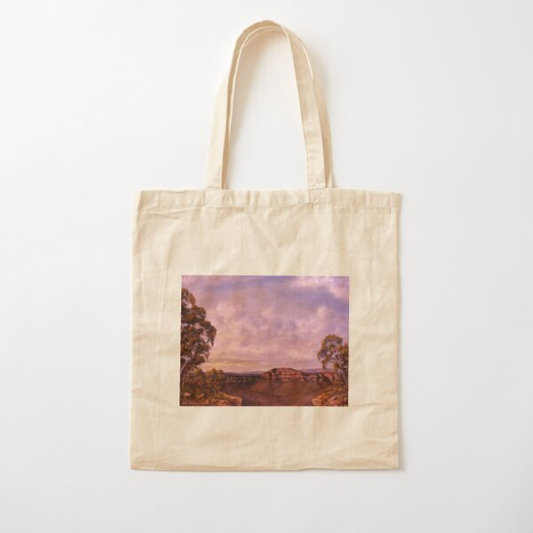 THE BLUE MOUNTAINS Cotton Tote Bag