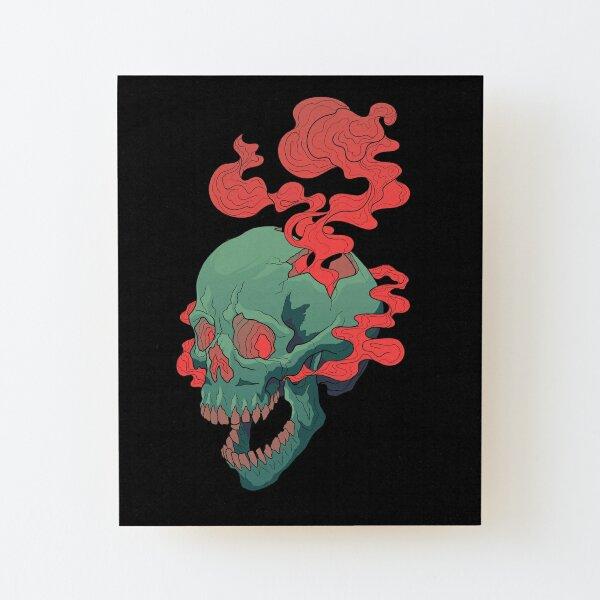 The Thinker Wood Mounted Print