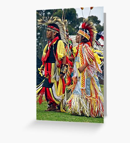 Young Warriors Greeting Card