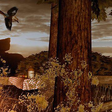 Kookaburra Autumn by kellyocs