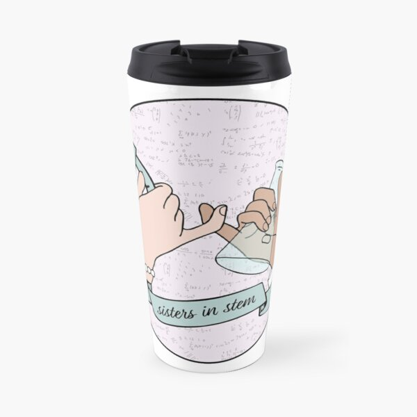 sisters in stem Travel Mug