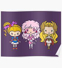 Lil 'CutiEs - Achtziger Damen Poster