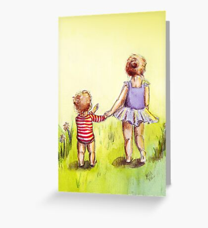 A Walk in the Sun Greeting Card